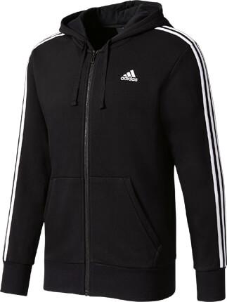 adidas Essentials 3 Stripes Full-Zip Hood French Terry nur € 64,99 ... bfa6afd93c