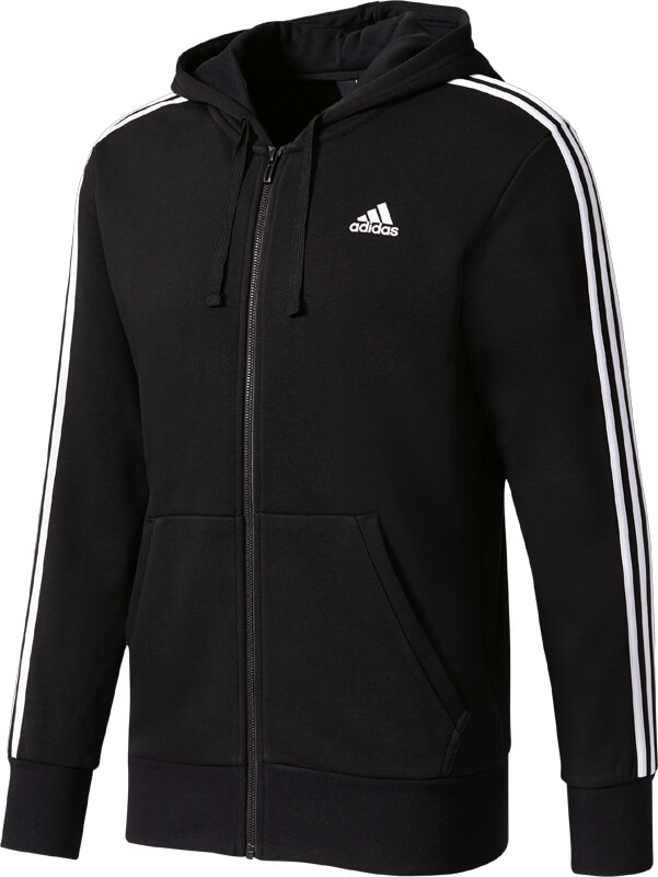 French 3 Stripes Essentials Zip Hood Terry Full W9HID2E