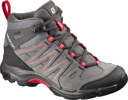 Salomon Campside Mid GTX Grey Hiking Boots