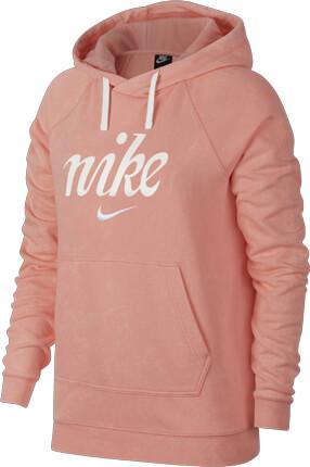 nike sportswear hoodie schwarz pink