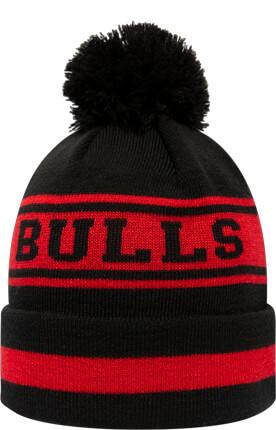 0410eb40957 New Era Chicago Bulls Team Cuff-Beanie mit Bommel nur € 22